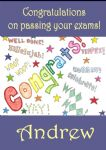 Personalised Congratulation on Passing Your Exams Card 2